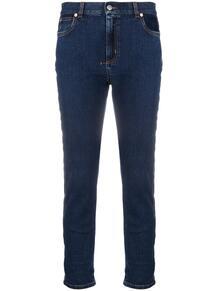 узкие джинсы с лампасами Alexander McQueen 160622555056