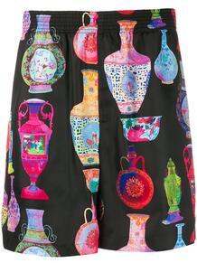 шорты с графичным принтом Versace 147869545254