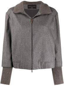 куртка с высоким воротником и пайетками FABIANA FILIPPI 157504665254