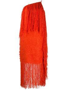 платье с бахромой MSGM 146527245248