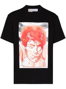 футболка с принтом JW Anderson 160334598883