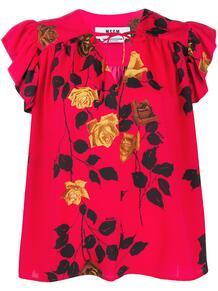 блузка с принтом MSGM 149203455252
