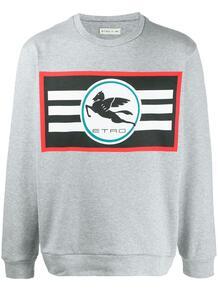 свитер с логотипом Etro 1474074276