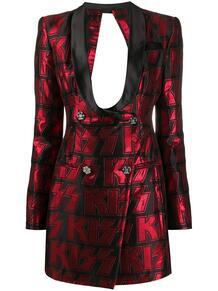 платье-пиджак на пуговицах PHILIPP PLEIN 1476880376