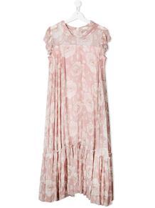 ярусное платье с цветочным принтом Monnalisa 1552228877