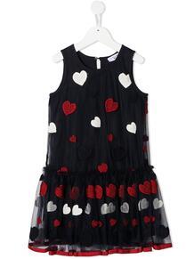 платье из тюля с вышивкой Monnalisa 1595628953
