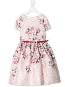 платье с принтом Monnalisa 1588370454