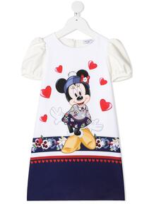 платье с принтом Minnie Mouse Monnalisa 1596885756