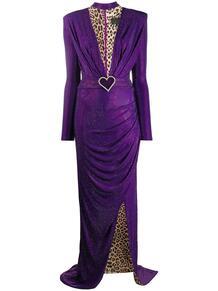 платье с глубоким вырезом PHILIPP PLEIN 1552192476