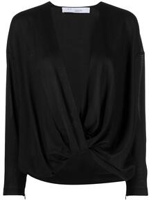 блузка оверсайз с V-образным вырезом IRO 161804005152