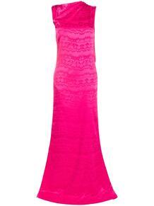 платье макси с разрезом THE ATTICO 161952675248