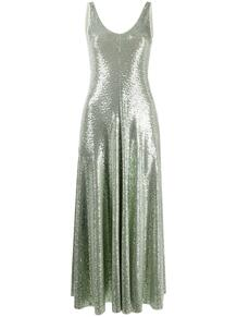 расклешенное платье с блестками Forte Forte 160971547373