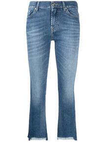 укороченные джинсы 7 for all mankind 162176805052