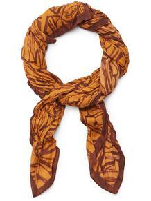 шарф с графичным принтом Ermenegildo Zegna 16130544636363633263