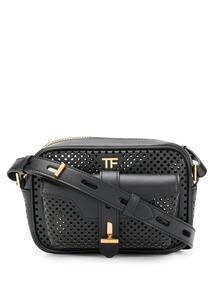 каркасная сумка с перфорацией Tom Ford 14932744636363633263