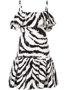 платье с зебровым принтом MSGM 139291175156