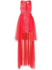 кружевное платье из тюля Elisabetta Franchi 158510725156