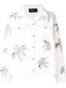 куртка с цветочным принтом PHILIPP PLEIN 1346453783