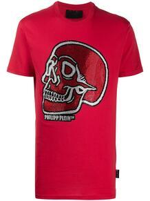 декорированная футболка PHILIPP PLEIN 155225008883