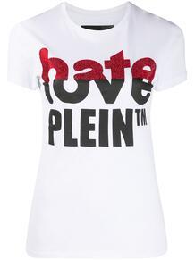 футболка Love Plein со стразами PHILIPP PLEIN 1552058677