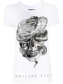 футболка с принтом Skull PHILIPP PLEIN 155435998883