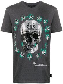 футболка с принтом Skull и логотипом PHILIPP PLEIN 1554105377