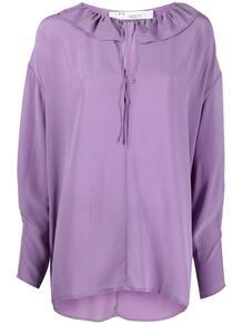 блузка Niklo с вырезом и оборками IRO 161804045154