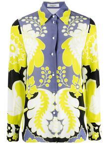 рубашка с цветочным принтом Valentino 163845425248