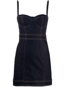 джинсовое платье узкого кроя Just Cavalli 149437505248