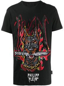 футболка с вышивкой SS Graffiti PHILIPP PLEIN 147675078888888876