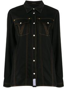 рубашка с принтом Medusa Versace 150416205156