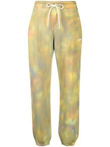 спортивные брюки с принтом тай-дай MSGM 1615485177