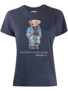 футболка с принтом Polo Bear Polo Ralph Lauren 15845401888883