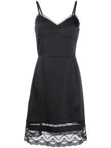 платье с кружевным подолом Marc by Marc Jacobs 1484318652