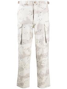 брюки карго с камуфляжным принтом STAMPD 159863615149
