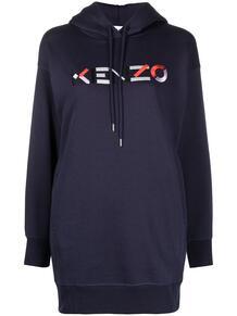 худи с вышитым логотипом Kenzo 163923098876