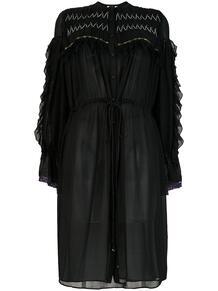 платье-рубашка с расклешенной юбкой KOCHÉ 123674755154