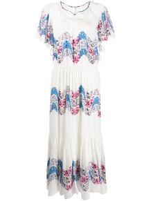 ярусное платье Nimo Isabel Marant 151921405152