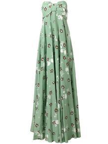 платье с цветочным узором Valentino 122701735154
