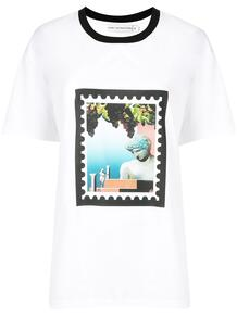 футболка с цветочным принтом MARY KATRANTZOU 1523584077