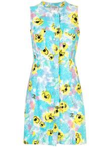 платье с цветочным принтом Chanel Pre-Owned 139382335250