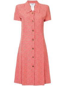 платье-рубашка в клетку Chanel Pre-Owned 141391565156