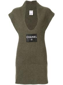 платье без рукавов Chanel Pre-Owned 135949245154