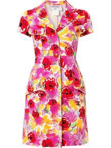 платье-рубашка с принтом Chanel Pre-Owned 139337235152