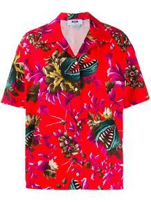 рубашка Venus Fly Trap с принтом MSGM 154757075156