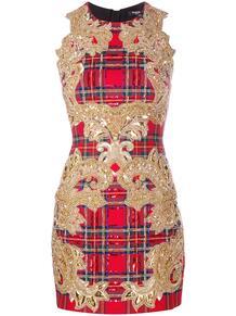 коктейльное платье с пайетками BALMAIN 156328545156