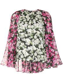 блузка Melissa с цветочным принтом MARY KATRANTZOU 155163154948