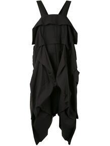 платье оверсайз с драпировкой Y3 1587979750