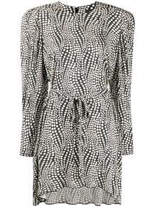 платье мини с принтом Isabel Marant 159523305248