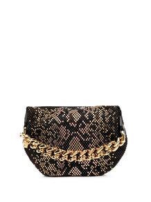 клатч с заклепками и змеиным узором Versace 15985511636363633263